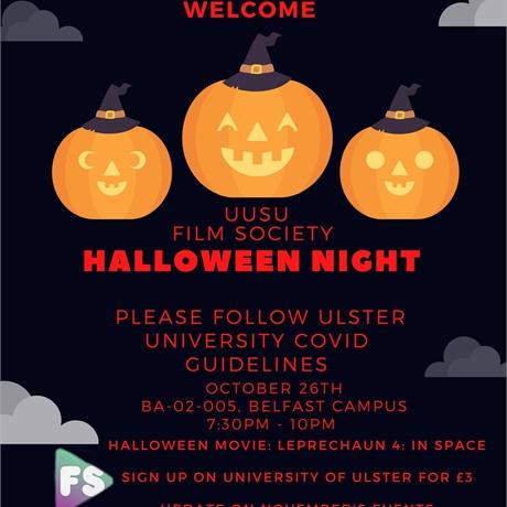 Halloween Film night