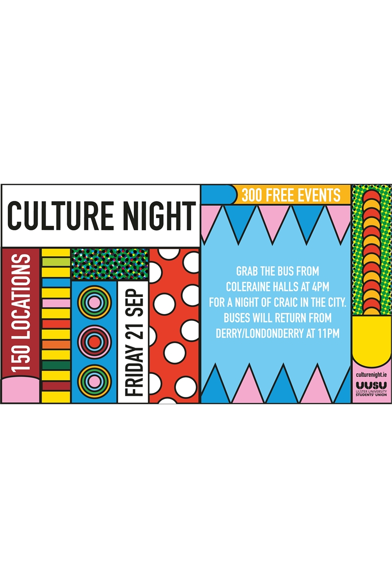 Culture Night for Magee Students