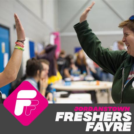 Jordanstown Campus Business, Volunteering & Uni Dept Freshers Fayre
