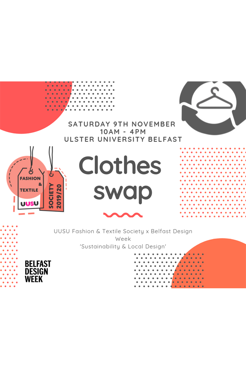 Clothes Swap x Belfast Design Week
