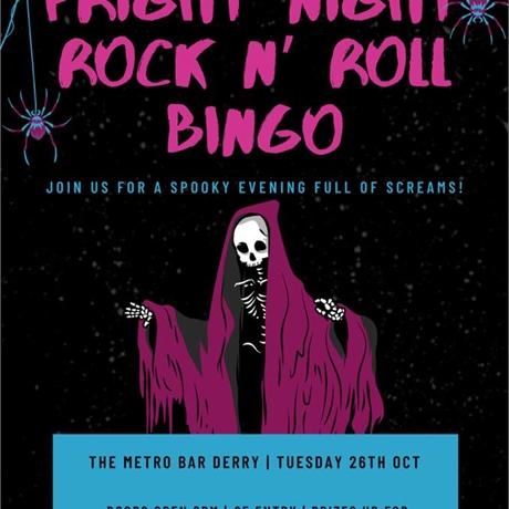 Fright Night - Rook N' Roll Bingo